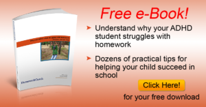 Free eBook: Understanding your ADHD Child's Homework Struggles
