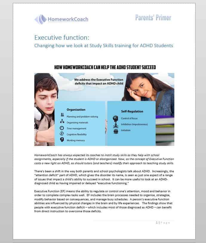 ADHD Tutors Near You | ADHD Tutoring Nationwide | HomeworkCoach